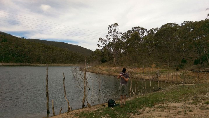 Blackheath Weekend Day 2: Fly Fishing at Lake Lyell