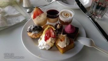 Sydney Tower Buffet: Plate of Dessert