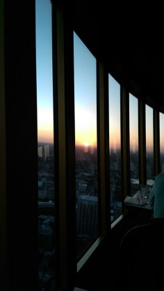 Sydney Tower: Sunset View