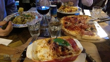 Criniti's Darling Harbour: Our Table of Four