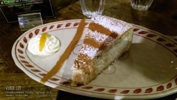 Criniti's Darling Harbour: Dessert: Ricotta Cake