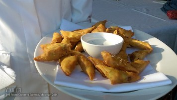 Tea Room Gunners Barrack: Canape: Samosa