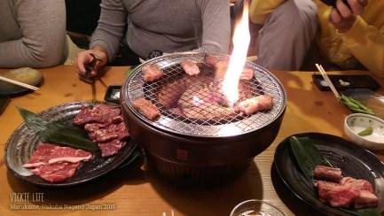 Marukame Hakuba: Yakiniku on Fire