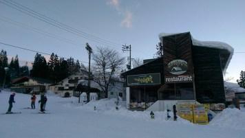Restaurants Near Foot of Ski Slope