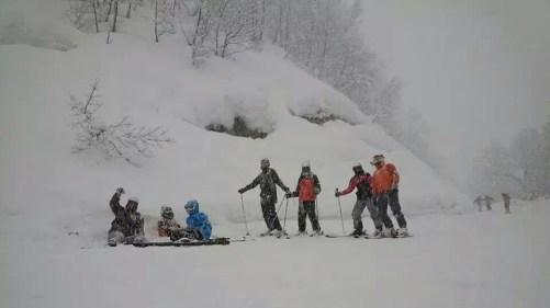 Ski Trip Jan 2015 D2: Group Shot