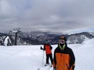 Ski Trip Jan 2015 D4: Me and Brother