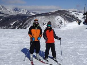 Ski Trip Jan 2015 D4: Brother and Me