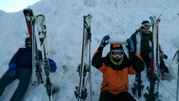 Ski Trip Jan 2015 D4: Balance Snow