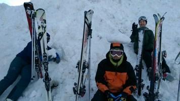 Ski Trip Jan 2015 D4: Behind His Back