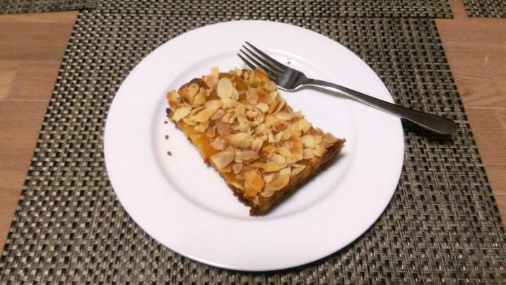 Apricot Almond Slice