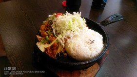 Corea Corea, Cairns: Spicy Chicken Hot Plate