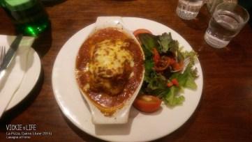 La Pizza, Cairns: Lasagna al Forno