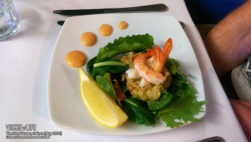 The Raw Prawn, Cairns: Prawn & Avocado Salad (Entree)