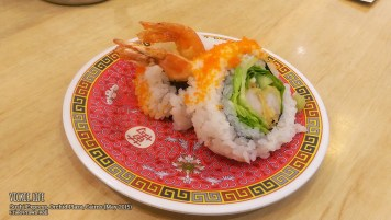 Sushi Express, Cairns: Fried Prawn Roll