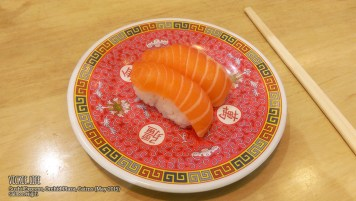 Sushi Express, Cairns: Salmon Nigiri