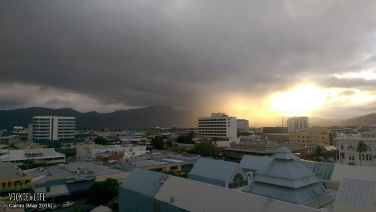 Cairns Sunset in the Rain