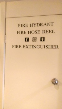 Fire Hydrant, Fire Hose Reel, Fire Extinguisher Icons