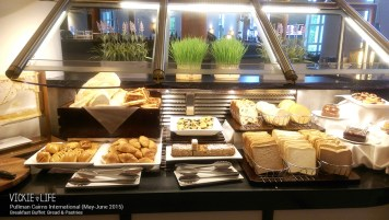 Pullman Cairns Breakfast Buffet: Bread & Pastries