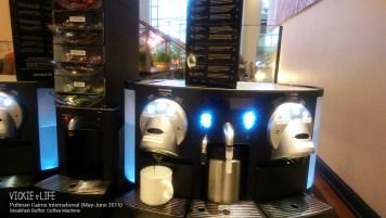 Pullman Cairns Breakfast Buffet: Coffee Machine