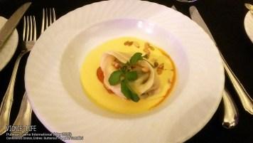 Pullman Cairns Conference Dinner: Butternut Pumpkin Tortellini (entree)