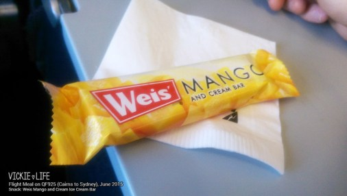 Qantas QF925: Ice Cream Bar