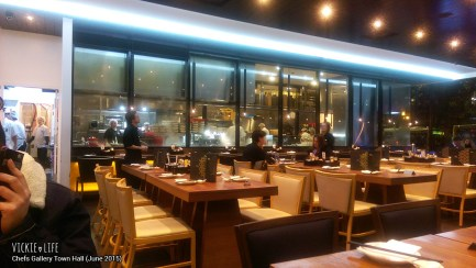 Chefs Gallery Town Hall, June 2015: Interior