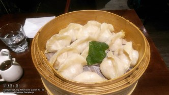 Dumpling King, Newtown, June 2015: Chicken and Cabbage Dumplings