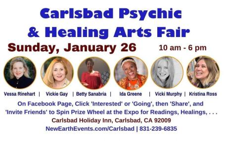 Vickie EXPO Carlsbad Jan 26 2020
