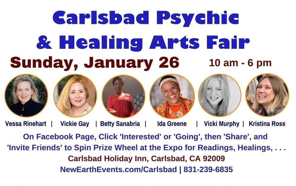Vickie EXPO Carlsbad Jan 26 2020