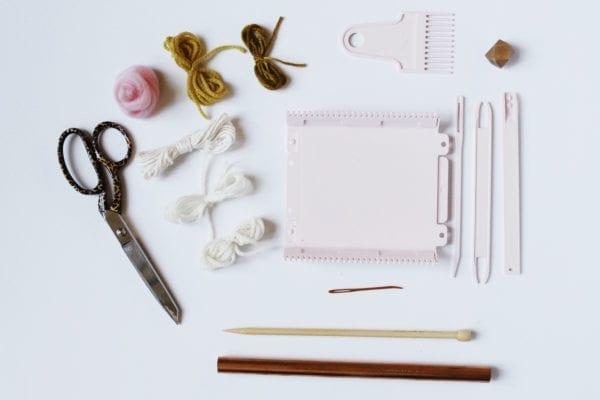 clover mini loom supplies