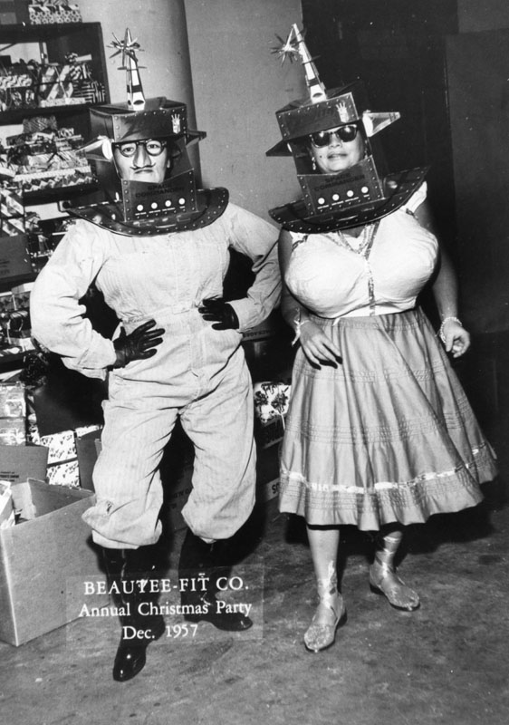 beautee fit bra company 1957