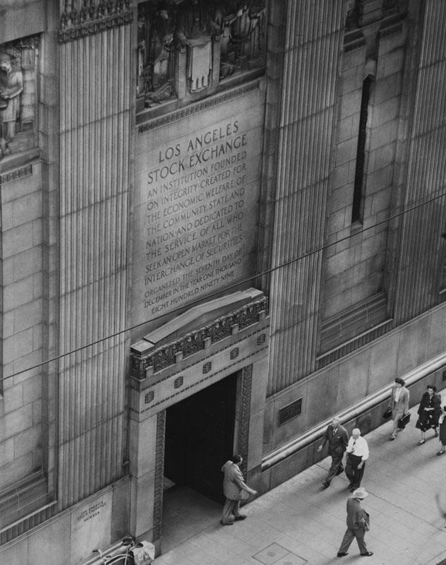 stock exchange 1957