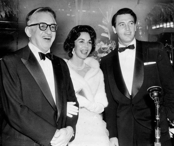 Selznick Jennifer Jones Rock Hudson premier Farewell to Arms 12 1957
