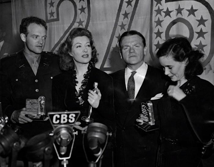 1943 Van Heflin Greer Garson James Cagney THeresa Wright