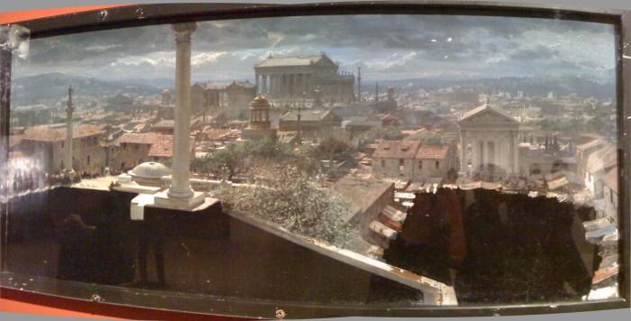 spartacus matte painting LACMA