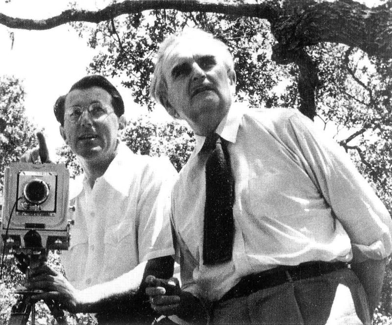 Julius Shulman and Richard Neutra