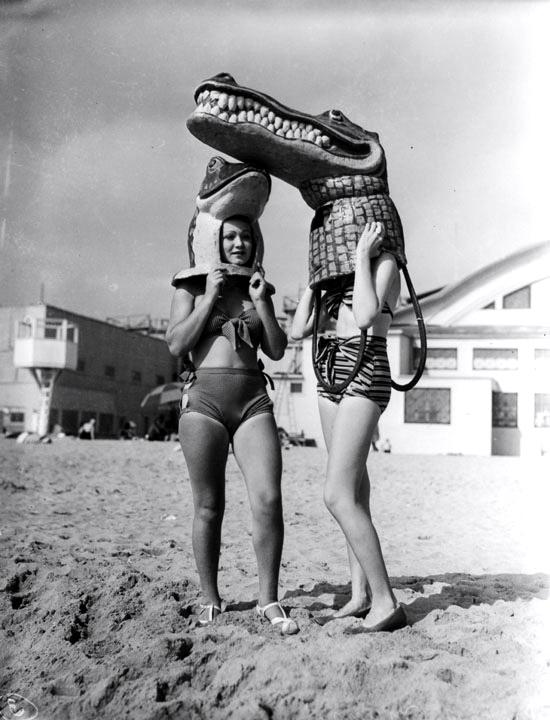 1935 venice beach mardi gras