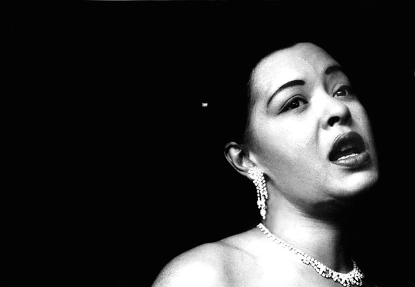 billie holiday by bob-willoughby
