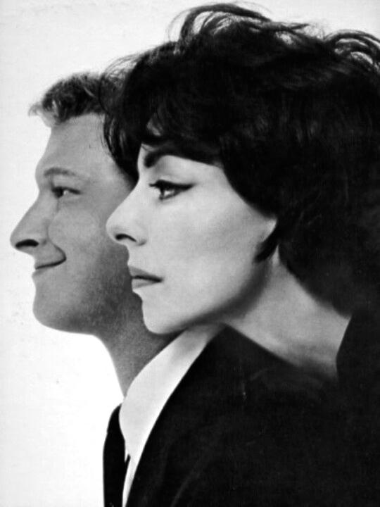 Nichols and May by Avedon