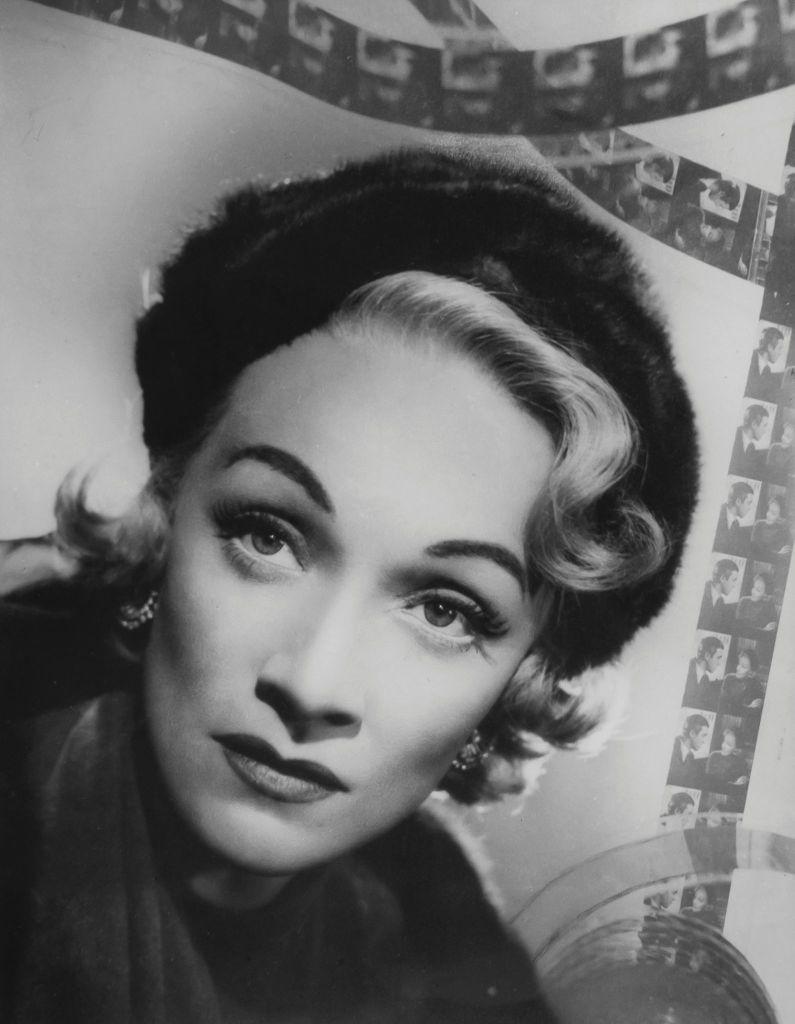 Marlene Dietrich by Angus McBean, 1951