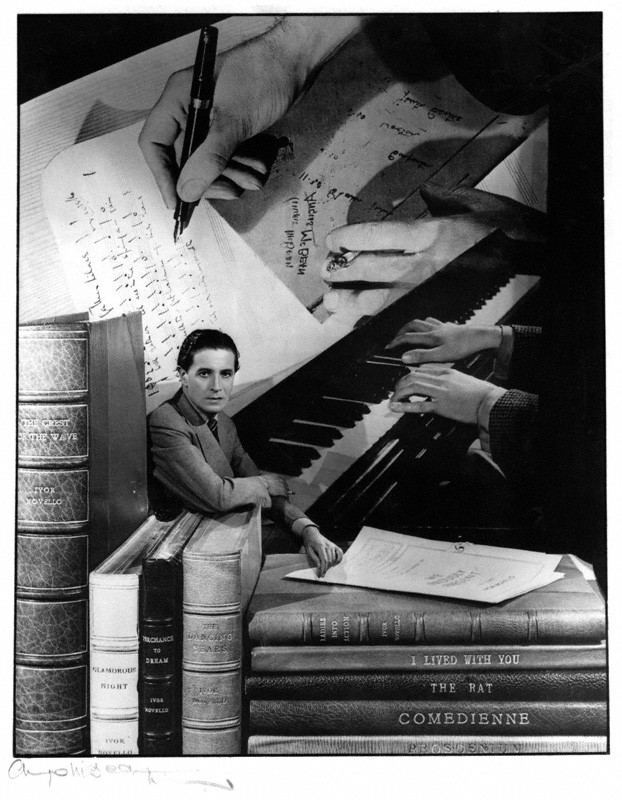 Ivor Novello, by Angus McBean, bromide print, 1947