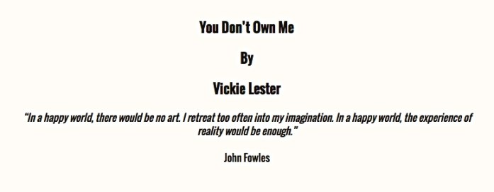 by vickie lester