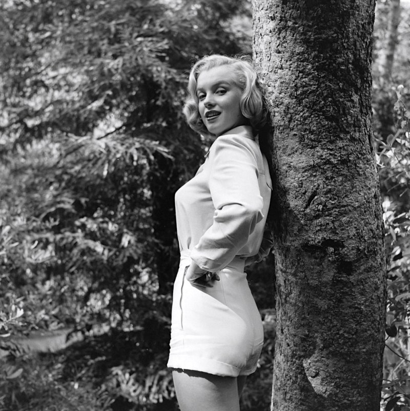 Marilyn Monroe in Griffith Park, photo by Ed Clark, 1950