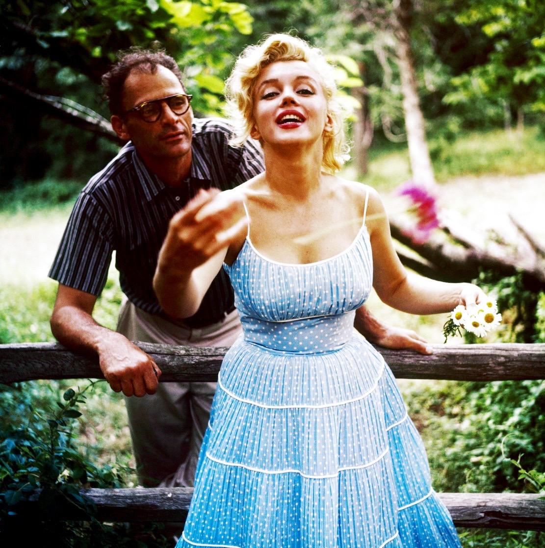 arthur-miller-marilyn-monroe by sam-shaw 1957