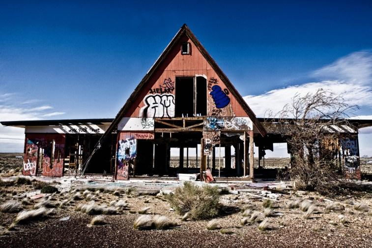 Two Guns ghost town