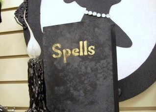 Halloween Decorations – Old Musty Spell Book