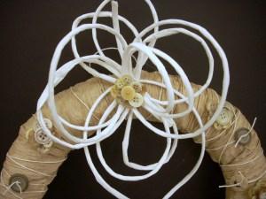 Paper Twist Wreath