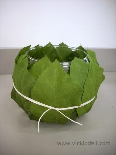 After the Wedding Ivy Bowls – Hydrangea Leaf Bowls