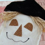 Harvest Festival Scarecrow Treat Bag