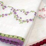 It's In the Details – Embroidered and Trimmed Pillowcases